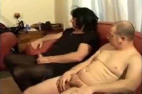 daddy female master and young ladyboy foursome with two males