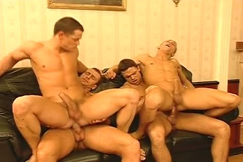 Masked males Have Their Way with Two Hunky Italian mates