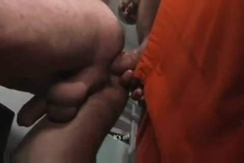 TWO moist HUNG PRISONERS use young LAD naked