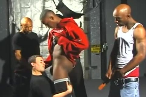 fine White dudes Opens Wide For Interracial Gangbanging joy