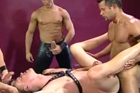 Brad Patton Leather three-some