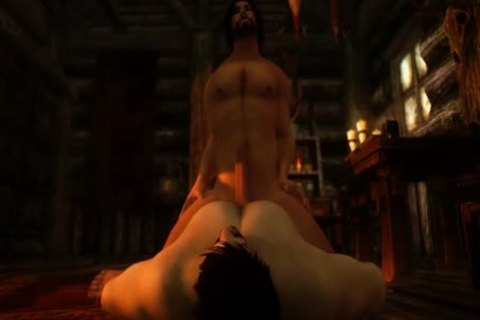 Jon Snow (Game Of Thrones) Visits Skyrim For Some lad Love