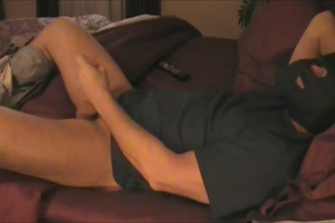 Relaxing At Home And Jacking Off My cock And Enjoying My Precum!