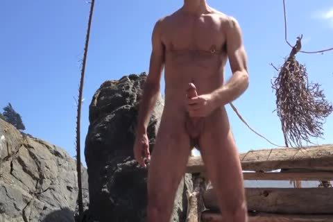 plowing And stroking And Squirting At The naked Beach