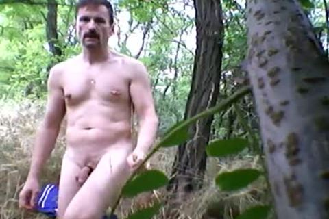 I Was nude In The Woods Near The Trail.