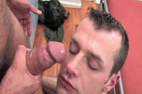 gigantic weenie Daddy And Tommy In This Sodomy Scene