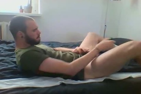 Me Getting wild With Military Sneakers And White Socks, Wearing My Sweaty Army T Shirt That Smells Very Manly