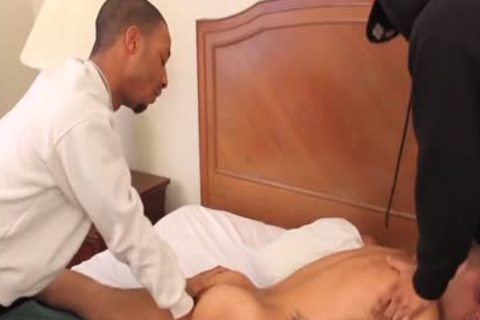 A delightsome three-some With Romeo And Lil Papi
