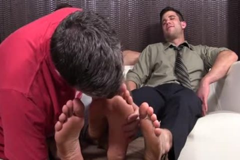 messy fellows Cole And Kenny Love To Have Their Feet Worshipped