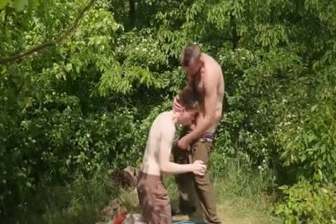 lad Scout receives A Hard group-sex