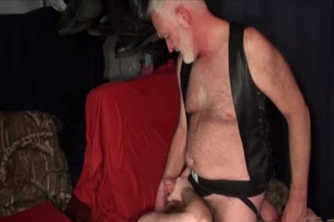 overweight Ginger groans By Daddy S nude wang
