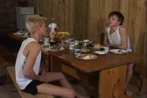 Russian homosexual males nail In Sauna After Dinner