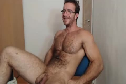 [web camera] Bigdudex A cute hairy Daddy Shows arse And
