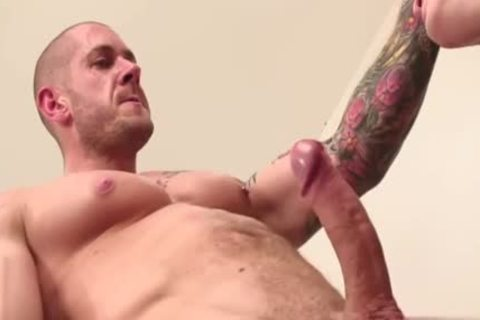 Muscle homo ass stab With cumshot