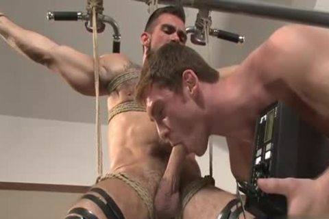 large weenie gay tied With Facial