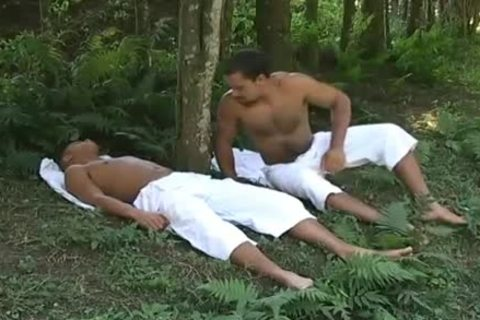Latino Love In The Woods