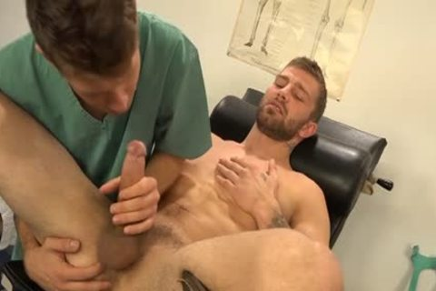 Muscle gay Dp With cream flow