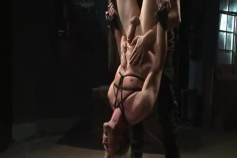 lovely Cop fastened & Tormented