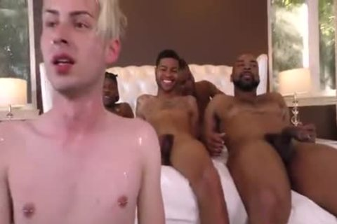 gangbang A White whore