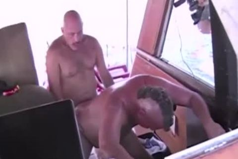 daddy unprotected Boat fuckfest