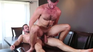 Raging Hard On - Phenix Saint with Jimmy Fanz anal Hump