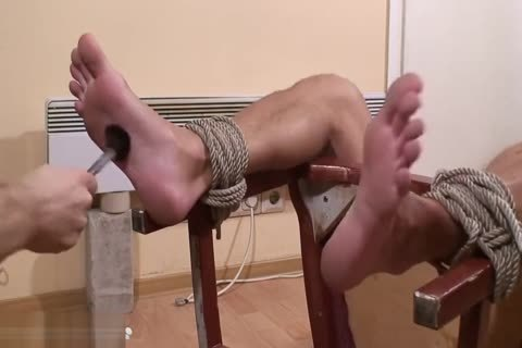 Kolja Feet Tickle punishment - Russian