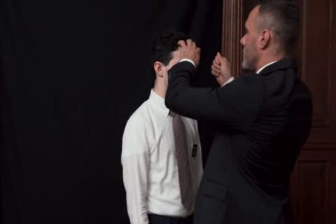 MormonBoyz - Priest Watches A Religious twink Jerks His wang