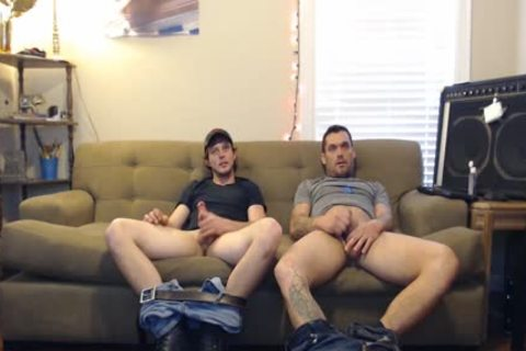 these boyz said They Were Straight, But They'd Still jerk off. They didn't Know The Camera Was On.