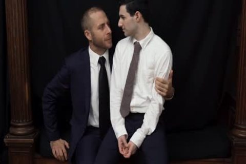 MormonBoyz - lustful Priest Punishes A young Missionary's butt