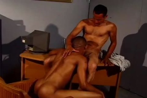 A Tanned Exotic booty receives A big darksome Boner