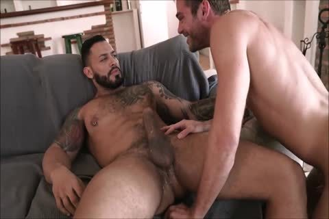 attractive Daddy With gigantic penis Breeds His twink raw