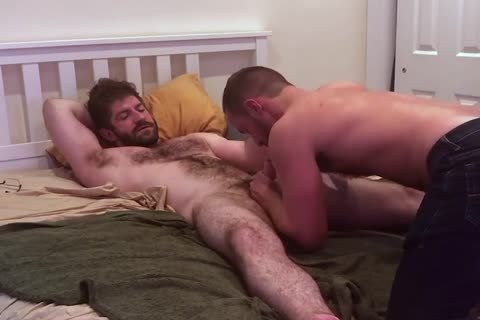 VERBAL hirsute daddy TELLS HOOKUP he'S going to NUT INSIDE