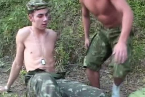 young Soldiers fucking