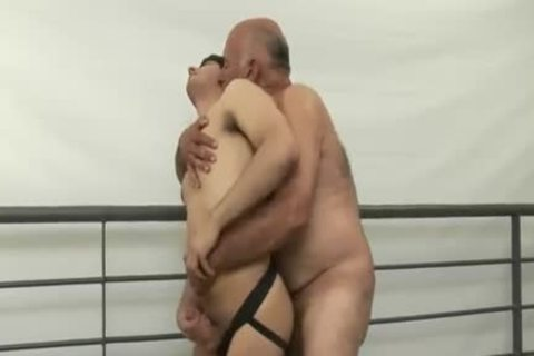 wild hairy daddy man Tops young man
