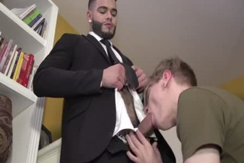 Latino With big plump cock And Hard Balls bonks Blond twink undressed
