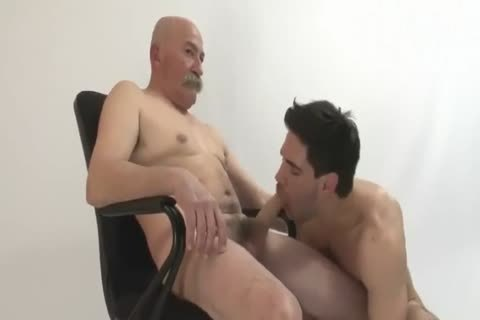 The Things old man And Grandson Do In Front Of The Camera