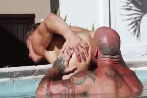 Sean drills Alam By The Pool