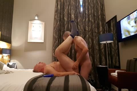 young man bangs admirable daddy man In His Hotel Room