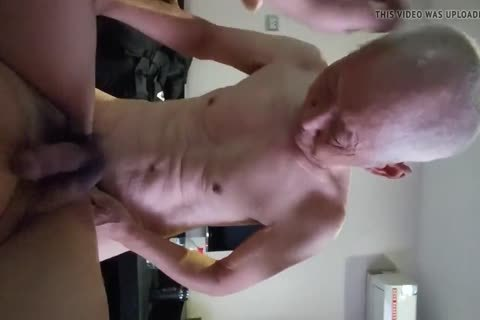 Chinese old guy Sucks & nails His Younger ally
