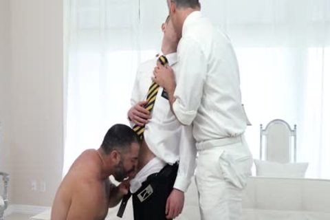 TWO MORMON DADDIES banging A young males