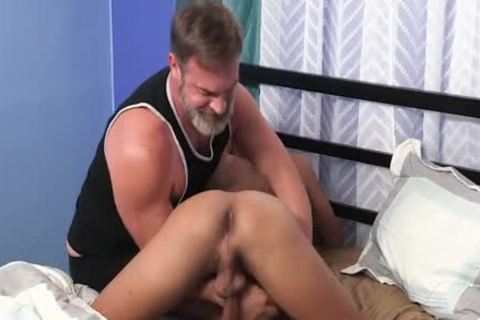 Daddy Seduces Spanish twink
