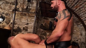 lusty Muscle Sub - Bruno Turbo anal Licking Nail