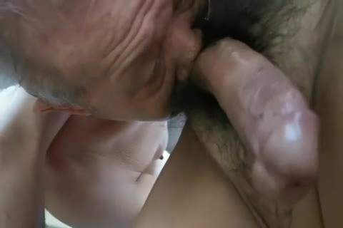 enchanting Chinese grand-dad engulfing dong & Getting drilled
