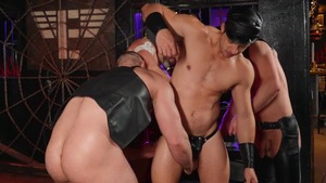 Tom Of Finland: Leather Bar Initiation - Dirk Caber and Kurtis Wolfe American Sex