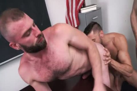 Pervy Professor Acquires His Arsehole drilled By His Much Loved Student And His Stepdad