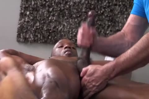 Super dude Massaged And Worshipped