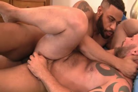 Daddy pounded By black penis