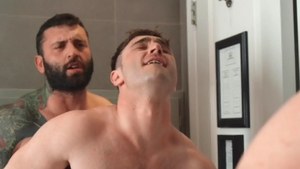 Drill My Hole - Brown hair Markus Kage doggystyle sex scene