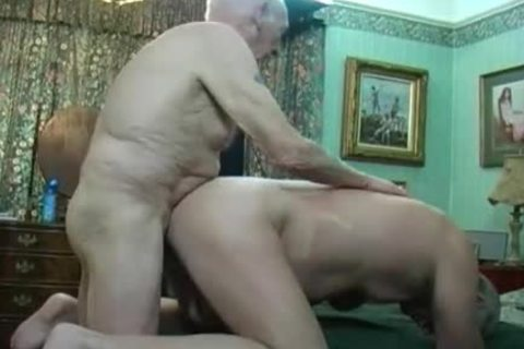 Two older males Making Love