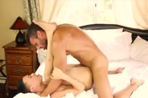 White Hunk banging His dirty Little asian spouse